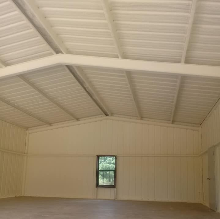 Metal Building Spray Foam Insulation North Carolina