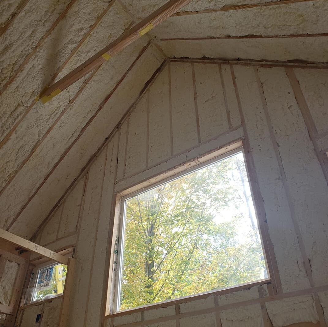 Roof Spray Foam Insulation North Carolina