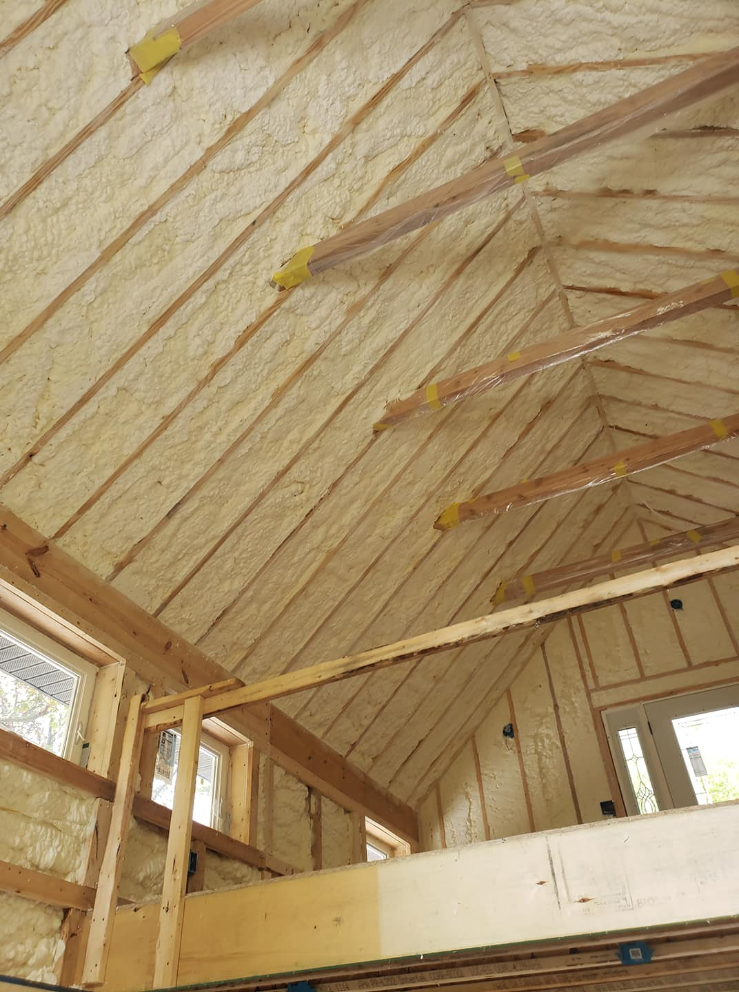 New Construction Spray Foam Insulation North Carolina