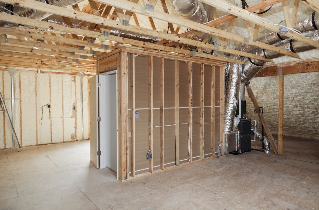 Walls Spray Foam Insulation North Carolina